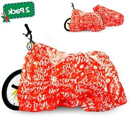 Christmas Gift Bags Set for Bicycle and Giant Gifts – 2 Pa