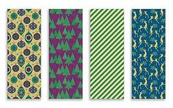 Christmas Gift Wrapping Paper Multi Pack of 4 Rolls of Gifti