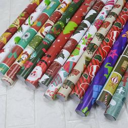 Christmas Papers Wrapping Gift Wraps Rolls Decorative Xmas P