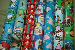 Christmas Wrapping Paper Gift Wrap Roll Paw Patrol Peppa Pig