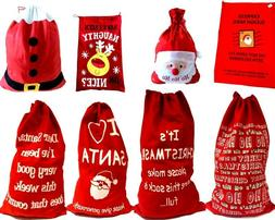 Christmas XMAS Large Jumbo Felt Santa Sack Gifts Children St