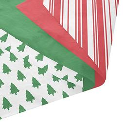 Classic Christmas Gift Wrapping Tissue Paper Set - 120 Sheet