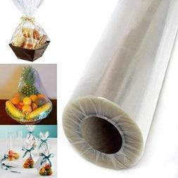 Clear Cellophane Wrap Roll EASTER Gift Baskets Wrapping Pape