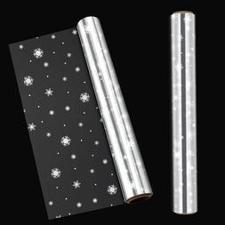 Clear Snowflake Cellophane Wrapping Gift Paper Wedding Birth