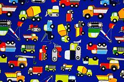 Construction Zone Premium Gift Wrapping Paper Flat Sheet - 2