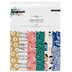 American Crafts Crate Paper Willow Lane Gift Wrap Paper and