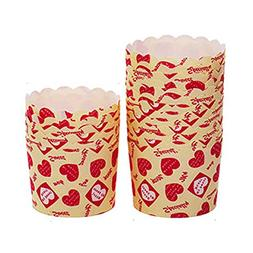 HBOS 20PCS Cupcake Wrappers Party Supplies Cup Cake Decorati