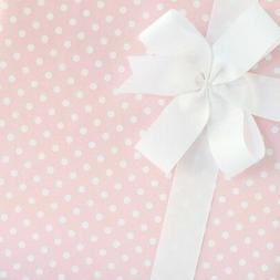 Dainty Dots Wrapping Paper / Gift Wrap - Pink Frosting - by