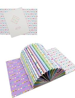 decorative wrapping paper book