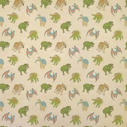 Dinosaurs Kraft Present Gift Wrap Wrapping Paper
