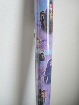 Disney Descendants Gift Wrapping Paper 22.5 sq ft One Roll P