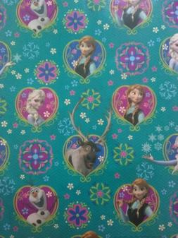 Hallmark Disney Frozen Wrapping Paper Rolls Lot of 6 New!