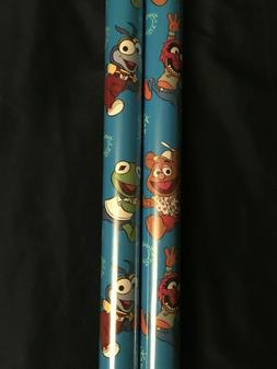 Disney The Muppet Babies Hallmark Gift Wrap Xmas Wrapping Pa