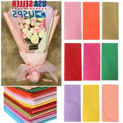 DIY Wrapping Packing Craft Origami Flower Making Tissue Pape