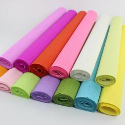 DIY Wrapping Paper Crepe Paper Flower Bouquet Craft Paper Gi