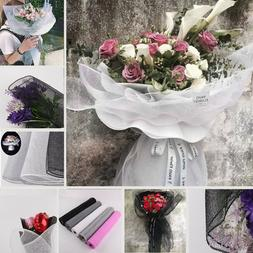 diy wrapping paper translucent flower bouquet craft