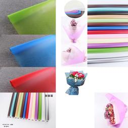 DIY Wrapping Paper Translucent Matte Flower Bouquet Craft Pa
