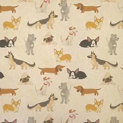 Dogs Galore Kraft Present Gift Wrap Wrapping Paper