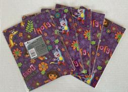 American Greetings Dora The Explorer Wrapping Paper 8.33 SF