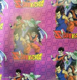 Dragon Ball Z Wrapping Paper Sheet Gift Book Cover Party Wra