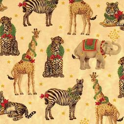 Caspari - Christmas Gift Holiday Wrapping Paper, Wild Christ