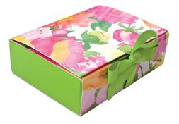 Entertaining with Caspari Paper Gift Boxes, 6-1/2 by 5 by 2-