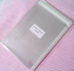 4 3/4in. X 6 1/2in. Flat Cellophane Bags with Adhesive Closu