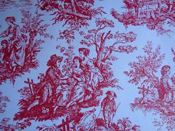 french toile gift wrap wrapping paper 30