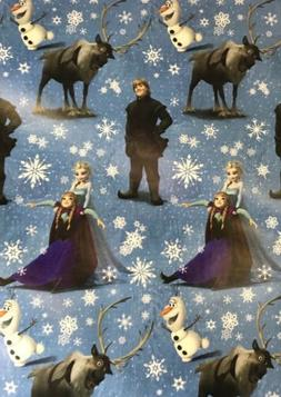 Disney FROZEN Christmas Wrapping Paper 65 sq ft roll wrap 1