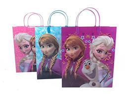 12pcs Disney Frozen Mid-size Treat Bags Goodies Bags Party F