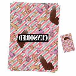 Funny Rude Gift Wrap Wrapping Paper Sheets Women Friend Birt