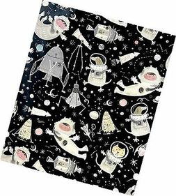 "Galactic Animals Gift Wrapping Paper Roll - 24"" x 15'"