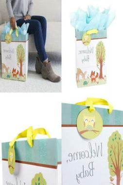 Hallmark Extra Large Baby Shower Gift Bag with Tissue Paper