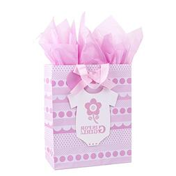 Hallmark Large Baby Gift Bag with Tissue Paper