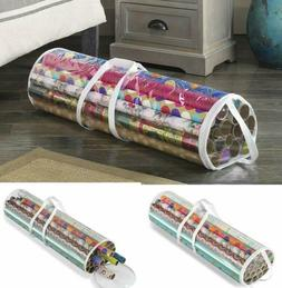 Gift Wrap Organizer Wrapping Paper Wire Rolled Storage Bag T