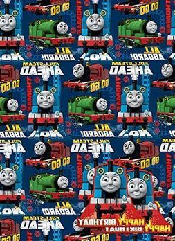 Thomas the Tank Engine Gift Wrap Pack : 2 Sheets Wrapping Pa
