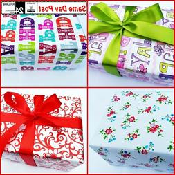 Gift Wrap Packaging Wrapping Paper 2 m / 4m / 6m Christmas B