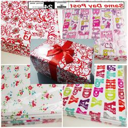 Gift Wrap Packaging Wrapping Paper 4 meters 6m 10m  Party Cr