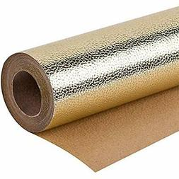Gift Wrap Paper Wrapping Roll - Sparkle Gold For Birthday, H