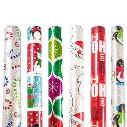 JAM Paper® Gift Wrapping Assortments - Assorted Rolls of Ho
