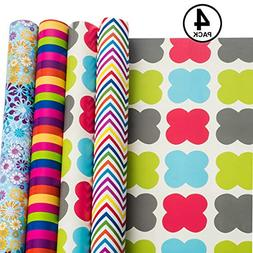 Gift Wrapping Paper All Occasion Holidays Patterns Premium R