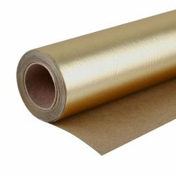 Wrapaholic Gift Wrapping Paper Roll - Wood Grain Basics Glos