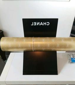 CHANEL Gold Logo Wrapping Paper 100% Authentic By the Yard 1