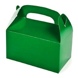 Green Treat Gift Favor Boxes