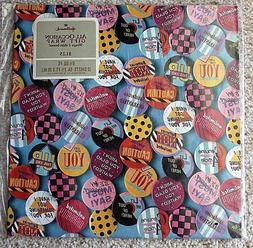 Hallmark All Occasion Gift Wrapping Paper Sealed 2 sheets Pi