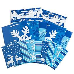 holiday gift bag assortment patterns