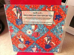 HOLLY HOBBY vtg gift wrap 1976 brand new wrapping-paper NWT