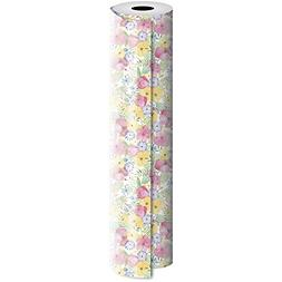 JAM PAPER Industrial Size Bulk Wrapping Paper Rolls - Waterc