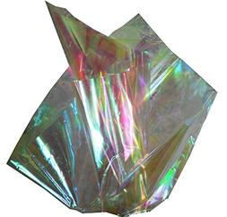 """Iridescent Opalescent Cellophane Sheets - 18"""" x 30"""" Sheets -"""