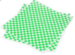"""Cakesupplyshop Item#766A- 100 Sheets 12x12"""" Green and White"""